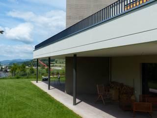 EFH Lusberghalde Moderne Häuser von Bachmann+Gabriel Architekten AG Modern