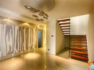 Couloir et hall d'entrée de style  par Studio Projektowe Projektive, Moderne