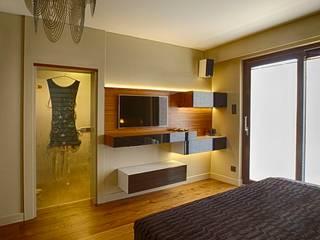 Chambre moderne par Studio Projektowe Projektive Moderne
