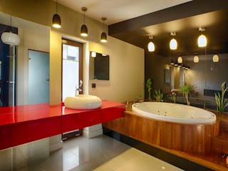 modern Bathroom by Studio Projektowe Projektive