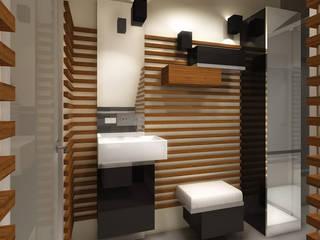 Studio Projektowe Projektive Baños de estilo moderno