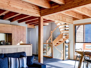 Maison bois contemporaine par Grosset Janin
