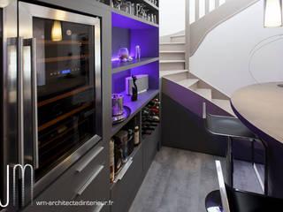Bodegas de vino de estilo  por WM, Moderno