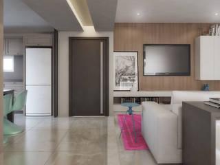 Modern Oturma Odası AF Arquitetura Modern
