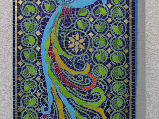 Phénix bleu par SIENNA MOSAICA Moderne