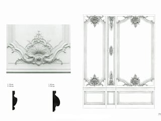 DECORATIVE MOULDINGS por Básico Veneciano,Arte Decorativo