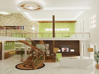 Living room Interiors:  Living room by Preetham  Interior Designer