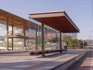 El jardín de los Sentidos: Jardines de estilo  de VAM10 arquitectura y paisaje