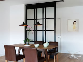 Industrial style dining room by Interiorismo Paloma Angulo Industrial