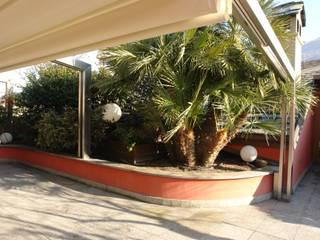 Balcon, Veranda & Terrasse modernes par Studio di Architettura Manuela Zecca Moderne