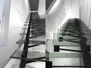 インダストリアルな 玄関&廊下&階段 の ATELIER WM インダストリアル