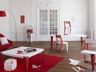 Meccano Home:  de style  par Cécile Makowski