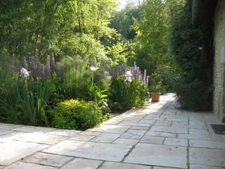 ZENOBIA Atelier de Paysage et d'Urbanisme Jardines de estilo rural
