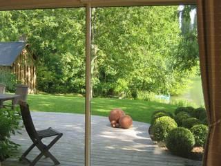 PROPRIÉTÉ PRIVÉE - PAYS D'AUGE : Jardin de style  par ZENOBIA Atelier de Paysage et d'Urbanisme