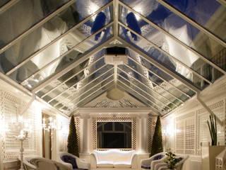 Panoramica: Giardino d'inverno in stile in stile Classico di Studio di Architettura Alberto Ambrosini