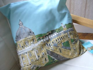 Cushions:   by Emmeline Simpson
