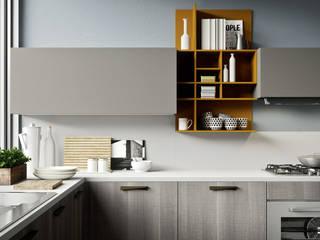 Projekty,  Kuchnia zaprojektowane przez Siloma srl