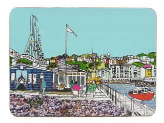 Dockyard Cafe Bristol Placemat:   by Emmeline Simpson