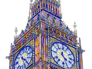 Twenty-Six Past Four, London: modern  by Suzy Abrahams, Modern