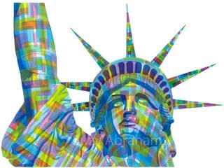 Statue of Liberty No.1: modern  by Suzy Abrahams, Modern
