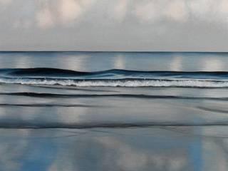 Miroir La mer et les galets ArtPhotos et illustrations