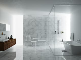 Interior bathroom by Marmi di Carrara