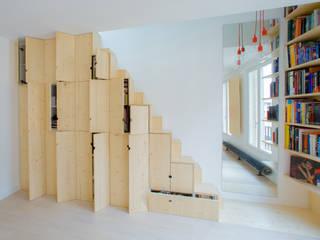 BANDES FONCTIONNELLES: Maisons de style de style Minimaliste par SCHEMAA