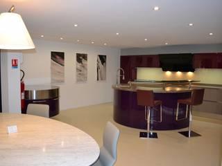 pur cuisines et interieur Minimalist kitchen