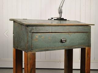 Repurposed Factory Desk: rustic  by Original House, Rustic