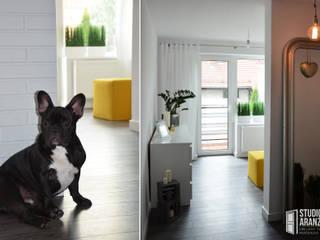 Salas de estilo moderno de Studio Aranżacji Agnieszka Adamek Moderno