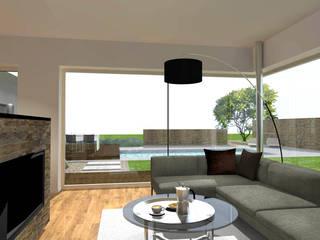 Haus M. Innenarchitektur | Ina Nimmrichter Moderne Wohnzimmer