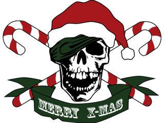 Weihnachts-Totenkopf:   von Denoda