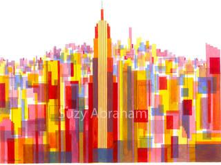 Manhattan Impressions No.3: modern  by Suzy Abrahams, Modern