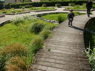 Le jardin des écoles par Atelier du sablier Méditerranéen