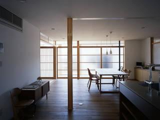 宇佐の家: 俵・小畠建築設計事務所  / Tawara・Obatake Architect & Associatesが手掛けたダイニングです。