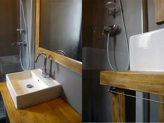 Mood Board Salle de bain industrielle par CRISS CROSSING Industriel