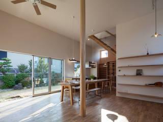 天井の高いワンルームの家: akkaが手掛けたです。