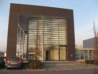 Bedrijfspand Eltra Industriële kantoorgebouwen van FD architecten Industrieel