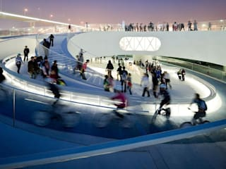 EXPO 2010 DANISH PAVILION โดย BIG-BJARKE INGELS GROUP โมเดิร์น