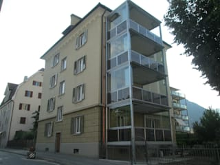 Anbau Balkonkonstruktion, 7000 Chur :  Häuser von marabau - Baukoordinationen GmbH