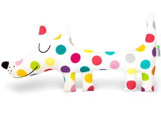 Pluszaki dekoraki od Miętowy Kot Nowoczesny