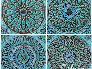 MOROCCAN WALL ART DESIGNS:   by Gvega Ceramica