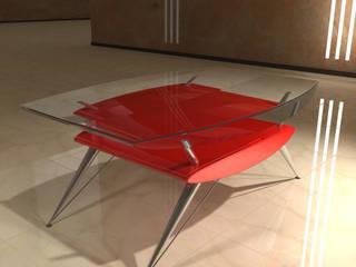 Design Tisch - Ensemble XIV:   von Hermann Bollwerk - Silverscape Design Pure