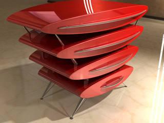 Design Sideboard - Ensemble XIV:   von Hermann Bollwerk - Silverscape Design Pure