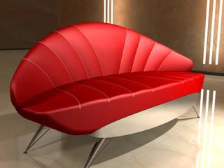 Design Sofa - Ensemble XIV:   von Hermann Bollwerk - Silverscape Design Pure