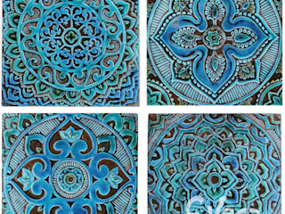 MANDALA WALL ART DESIGNS:   by Gvega Ceramica