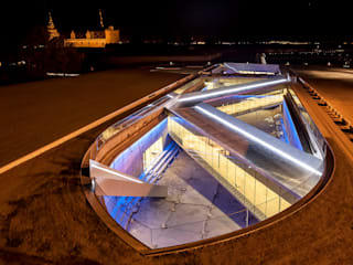 DANISH NATIONAL MARITIME MUSEUM od BIG-BJARKE INGELS GROUP Nowoczesny