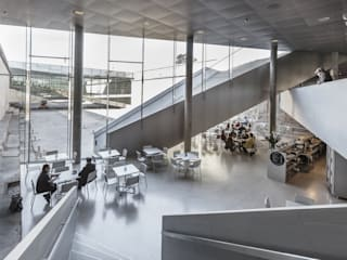 Museus  por BIG-BJARKE INGELS GROUP, Moderno