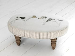 Eddie and Teddie Footstool: classic  by Adventino, Classic