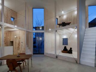House in Kashiwa, Unfinished house Salon minimaliste par 山﨑健太郎デザインワークショップ Minimaliste